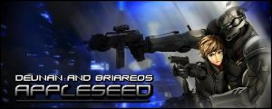 Appleseed - Deunan and Briareos by Lionheart6190