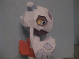 Froslass Papercraft by Xantaria