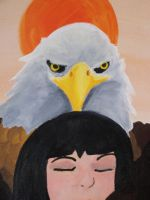 Embraced-Voom Eagle Head by tinta-estudio