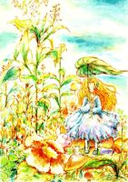 honey and clover by FLAFLY