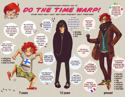 time warp meme by penkidievo