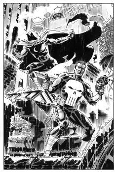 Punisher-Moon-Knight by BillReinhold
