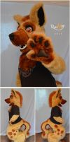 Hyena Digitigrade halfsuit. by Adele-Waldrom