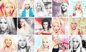 Christina Aguilera icons 5 by Missesglass