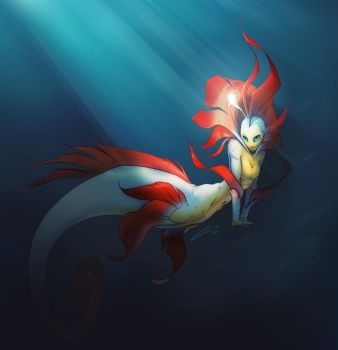 Spirit Howl - Mermaid by Kobold-Art