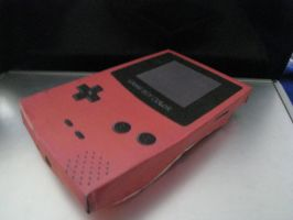 Gameboy Color Papercraft by LegoMyFoot