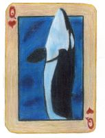 Queen on Hearts: The Orca by KefiraDalila