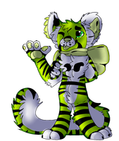 Toxic Tiger by crxzyduck