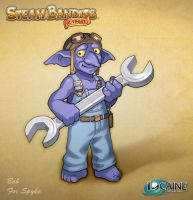 Steam Bandits Outpost Companion: Bob the Goblin by Shattered-Earth
