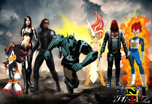 The New Anti-Heroez (Justice League Style) by MarkellBarnes360