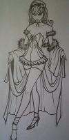 Anime Fashion - Prom Dress by SpaceCowboy-D