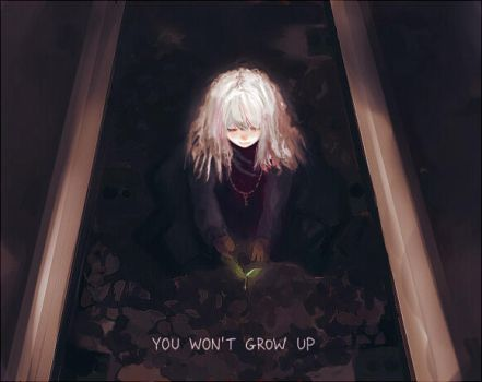 You Won't Grow Up by tinyglow