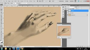 Hand Study WIP by RiaMcVee