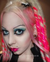 pink and blue by Countess-Grotesque