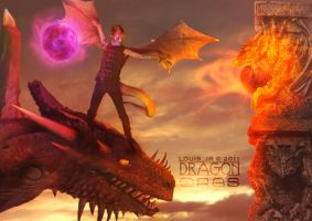 Dragon Orbs by Louis-Jr