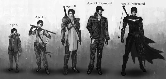 Character concept by ANHII