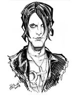 Criss Angel Caricature by hcnoel