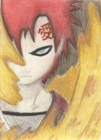 Gaara and his Sand by Elastaronicuted