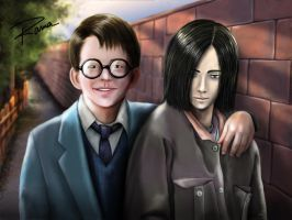Snape y James Commission by RamaChan