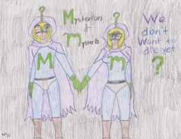 Mysterion and Mysteria by KylexStan1234