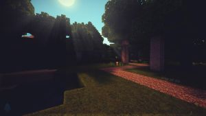 Minecraft way of live wallpaper by lpzdesign