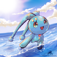 Manaphy by MeluuArts