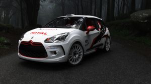 Citroen DS3 WRC Test car by oppositelock