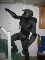 Halo Costume Completed by InSaNomOnKeY