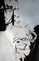 Ulquiorra and Grimmjow 2 by hate92