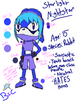 Bad, but updated ref: Starlight Nightstar by BlueSoulCookiee