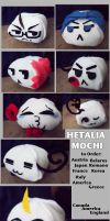 Hetalia: Mochi Invasion by ArtisticMoose