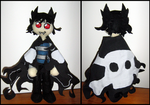 Charby fan doll by ghost-girl-mitchy