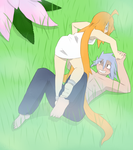 Play Fighting by Akask1-chibi