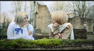 Hetalia Russia Ukraine - Nice to talk to you again by Nazu-chan