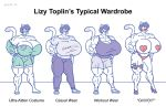 Lizy Toplin's Typical Wardrobe by SatsumaLord