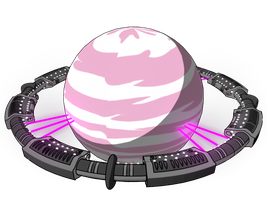 Invader ZIM Planet Conventia by mdmodeler
