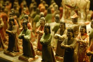 Clay figures by Lai-Wei