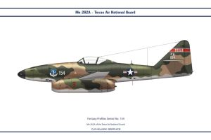 Fantasy 154 Me-262 Texas ANG by WS-Clave