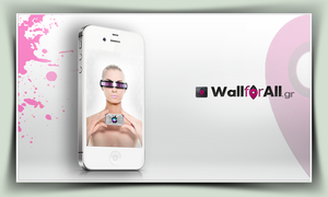 Android woman for iphone by WallforAll