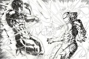 Green Lantern vs Iron Man by alfred183