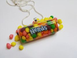 Nerds Candy Pendent by 2littleKisses
