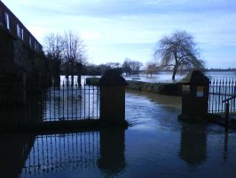 2nd Tewkesbury Floods 2008 by MagicalCrystal