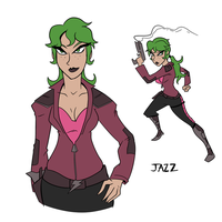 Her name is Jazz by AndrewMartinD