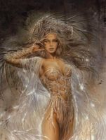 luis royo by Andr0medae