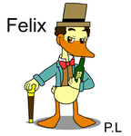 My new AJK OC~ Felix by Pandalove93