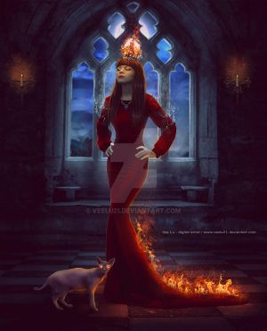 Queen Of Fire by Veelu21