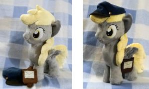 Mailmare in training:Filly Derpy Plushie: FOR SALE by AppleDew