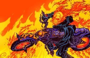 Ghost Rider by eldeivi
