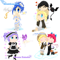 Gaia Commish Batch by popcorn1010