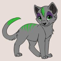 Chevere Kitten Form :o by LykenZealot